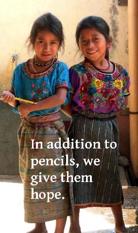 Girls with pencils-Hope Medium Web view